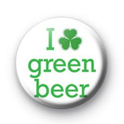I Love Green Beer 1 Badges
