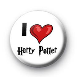 I Love Harry Potter badges