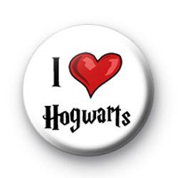I Love Hogwarts Badge