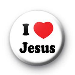 I Love Jesus Badges