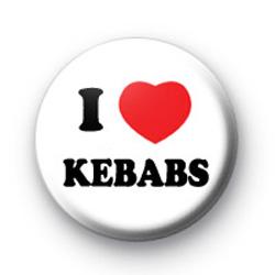 I Love Kebabs badge