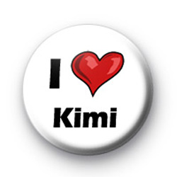 I Love Kimi badges