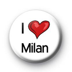 I Love Milan badges