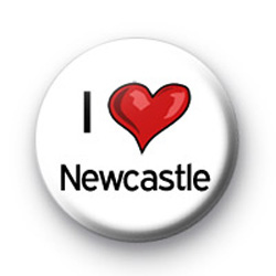 I Love Newcastle badges