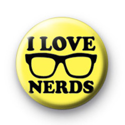 I Love Nerds Badges