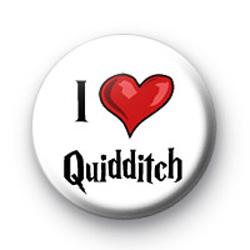 I Love Quidditch badges