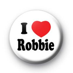 I love Robbie Williams Take That Badges