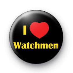 I Love Watchmen badges