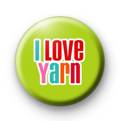 I Love Yarn Badges