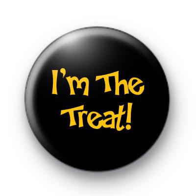 Im The Treat Halloween Badge
