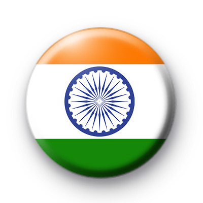 India Indian Flag badge
