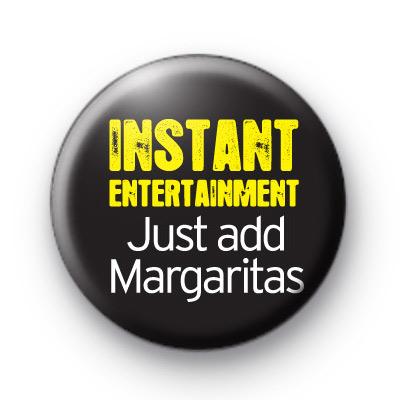 Just Add Margaritas Booze Badge
