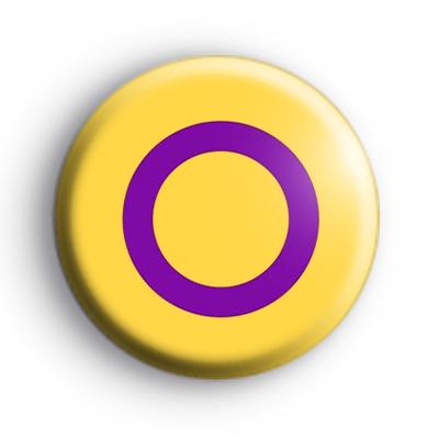 Intersexual Pride Flag Badge