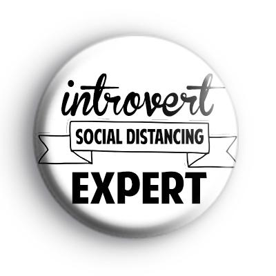 Introvert Social Distancing Expert Badge