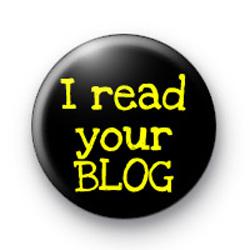 I read your Blog badges