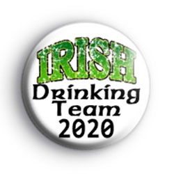 Irish drinking team 2020 Badge