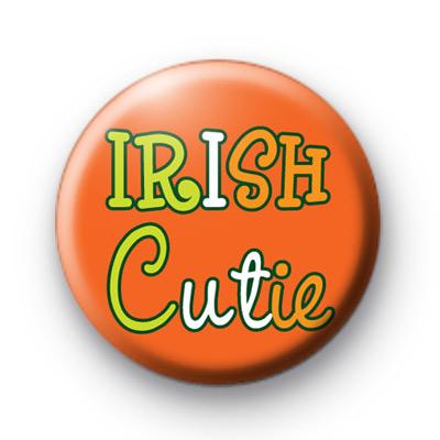 Orange Irish Cutie Button Badges