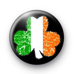 Shamrock Ireland badges