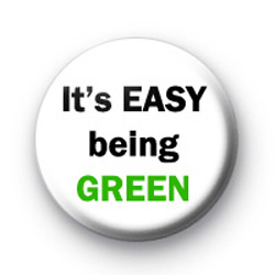 Its easy being GREEN badge