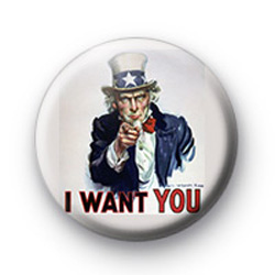 I want you badges