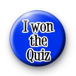 I won the Quiz Badge