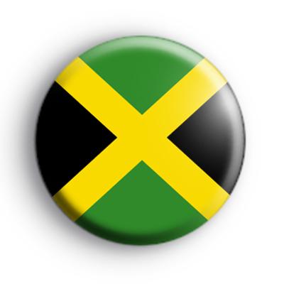 Jamaican Flag Badge Kool Badges