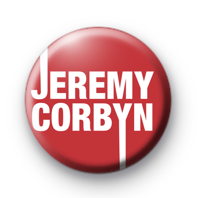 Jeremy Corbyn Badge