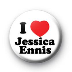 I Love Jessica Ennis Badge
