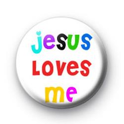 Jesus loves me badges