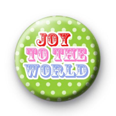 Joy To The World Badge