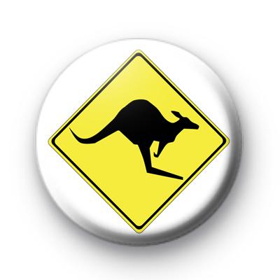 Kangaroo Crossing badge