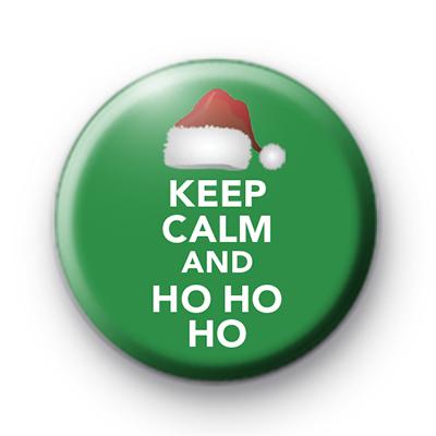 Keep Calm and Ho Ho Ho Badge