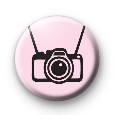 Cute Camera Button Badges