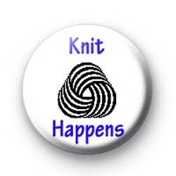 Knit Happens badges