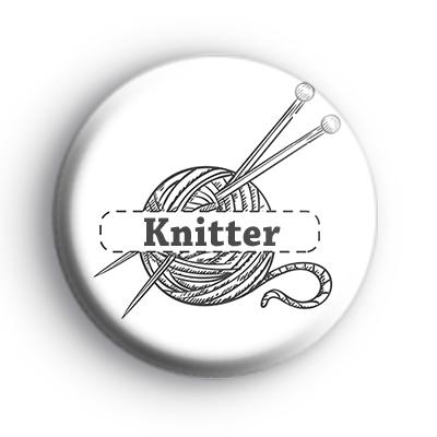 Knitter Custom Badge
