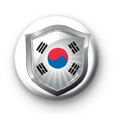 Korea Flag Crest