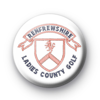 Renfrewshire Ladies County Golf badge