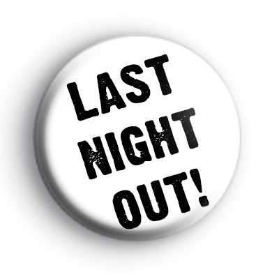 ~ Stag Night Badge Non-Personalised Stag Do ~ Themed Lapel Badge