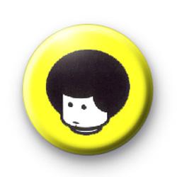 Lego Man Afro Badges