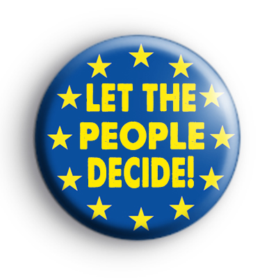Image result for let the people decide