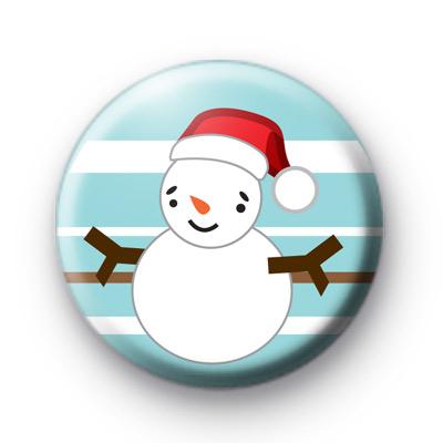 Lets Make Snowmen Button Badge