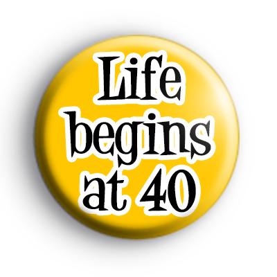 Custom Life Begins At Badge