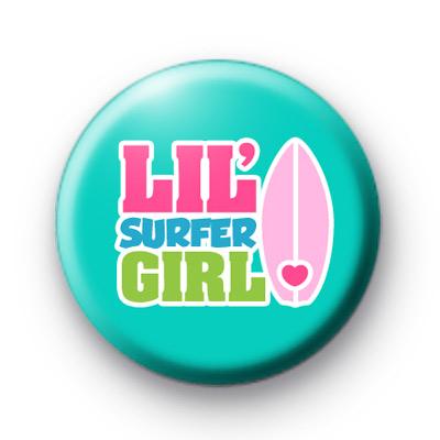 Lil Surfer Girl Badge