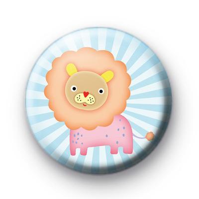 Lion Heart Button Badge
