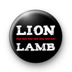 Lion Lamb Badge