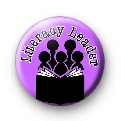Literacy Leader purple badge
