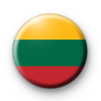 Lithuania National Flag Badge