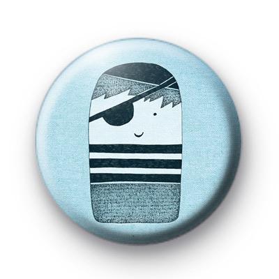 Little Thumb Pirate Boy Badge