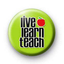 Live Learn Teach Badge