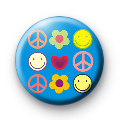 Peace and Smiles Badges